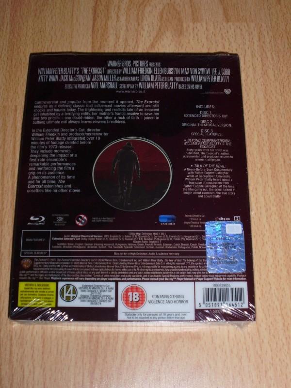 DER EXORZIST: Mondo-Steelbook MEGA RAR ! 3 Blu-Rays TOP