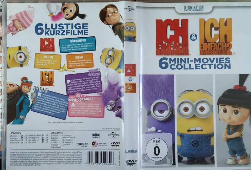 Ich einfach unverbesserlich1 &  2 (6 Mini-Movies Collection)