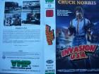 Invasion U. S. A. ... Chuck Norris ...  VHS ... FSK 18