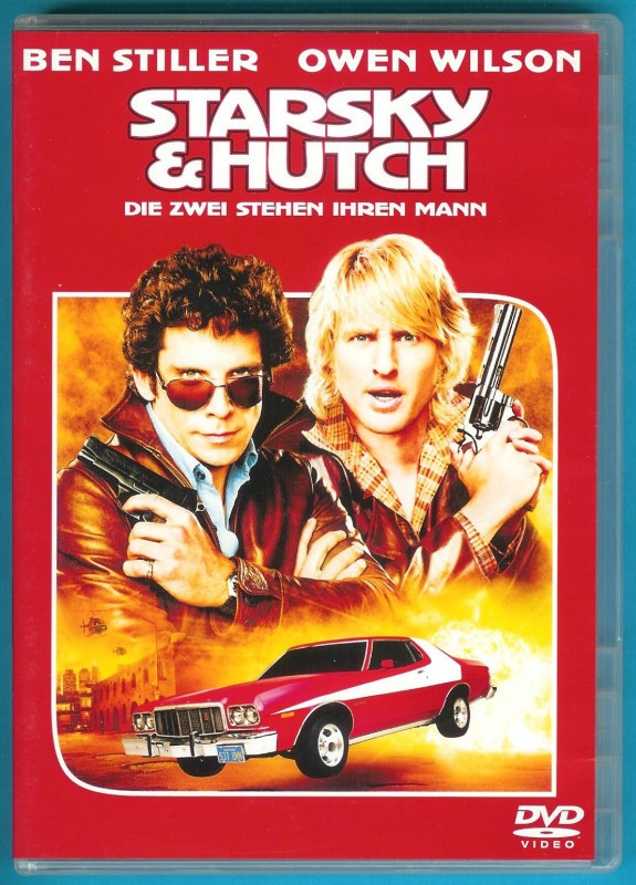 Starsky & Hutch DVD Ben Stiller, Owen Wilson fast NEUWERTIG