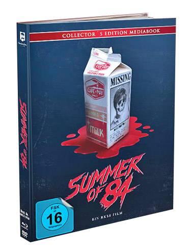 Summer of 84 - DVD+Blu-ray+CD Mediabook inkl Soundtrack OVP