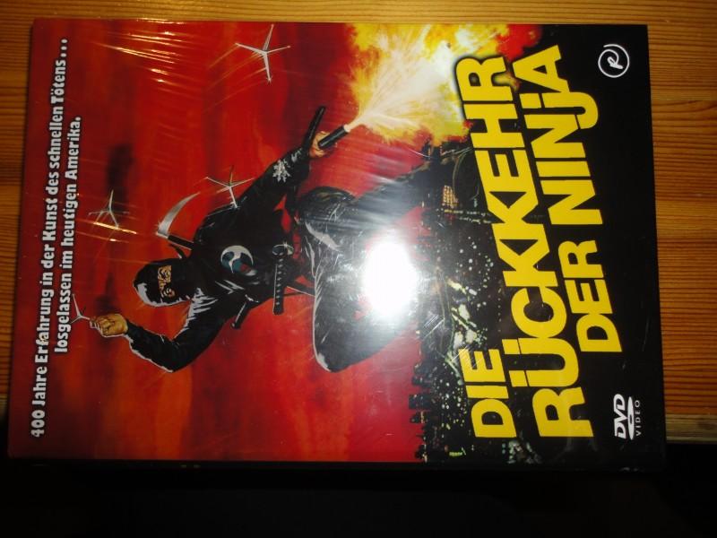 Die Rückkehr der Ninja, kl. Hartbox, deutsch,uncut, neu,DVD