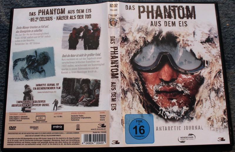 DVD Das Phantom aus dem Eis - Antartic Journal