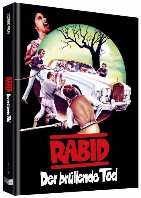 RABID - Cover D - Mediabook - UNCUT - Illusions - lim. 333