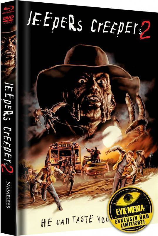 Jeepers Creepers 2 - Cover B - Mediabook - lim. Nr. 77/333