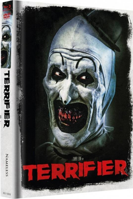 Terrifier - DVD/BR Mediabook - Nameless - Cover B  - Neu+OVP