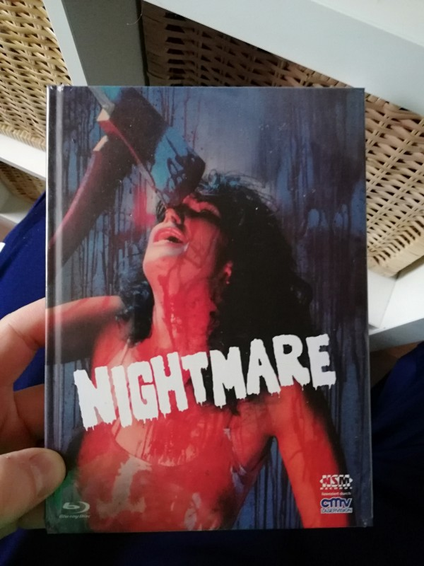 Nightmare in a Damaged Brain CMV/NSM Mediabook Cover D NEU