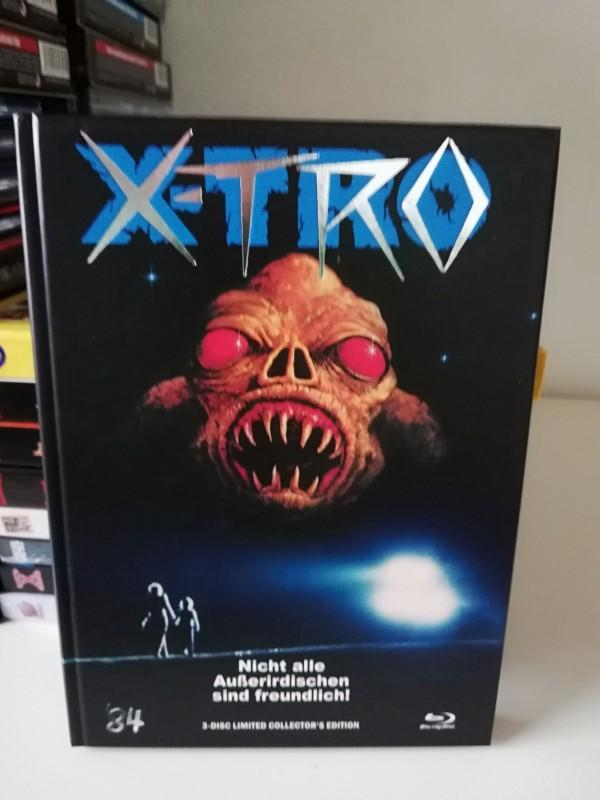 X-Tro 84 Mediabook Neuwertig!