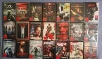 Grosse DVD Sammlung - 65 Filme (Horror, Action, Uncut...)