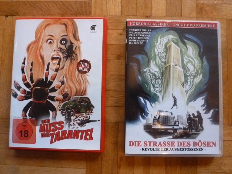 DVD-Raritäten (Kuss der Tarantel, Throne Of Fire, Straße des