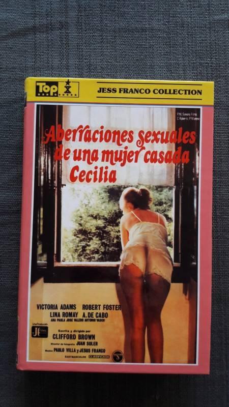 CECILIA - große Hartbox Original Cover X-Rated Jess Franco