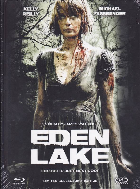 NSM Blu Ray Mediabook Eden Lake Cover B NEU/OVP