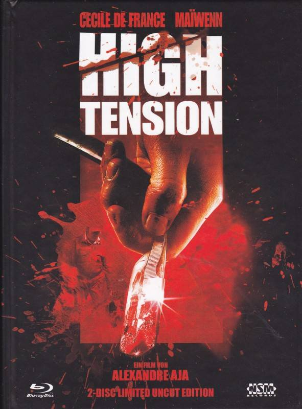NSM Blu Ray Mediabook High Tension Cover B NEU/OVP
