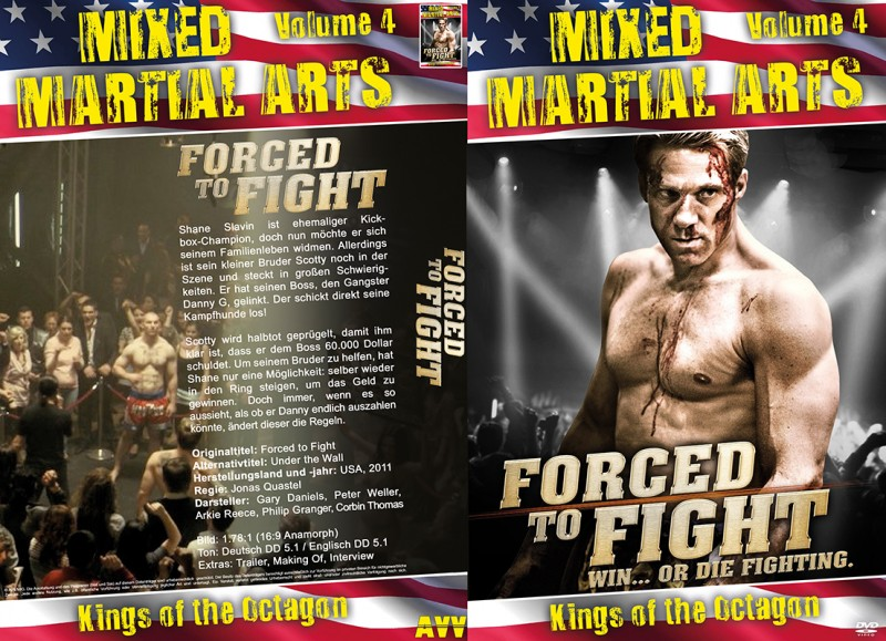 Forced to Fight (Große Hartbox / MMA #4) NEU ab 1€