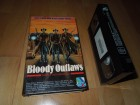 VHS BLOODY OUTLAWS NEW VISION 1019 FSK 18