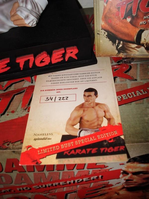 KARATE TIGER lim. 222 Büste Mediabook Edition (NEU/ OVP)