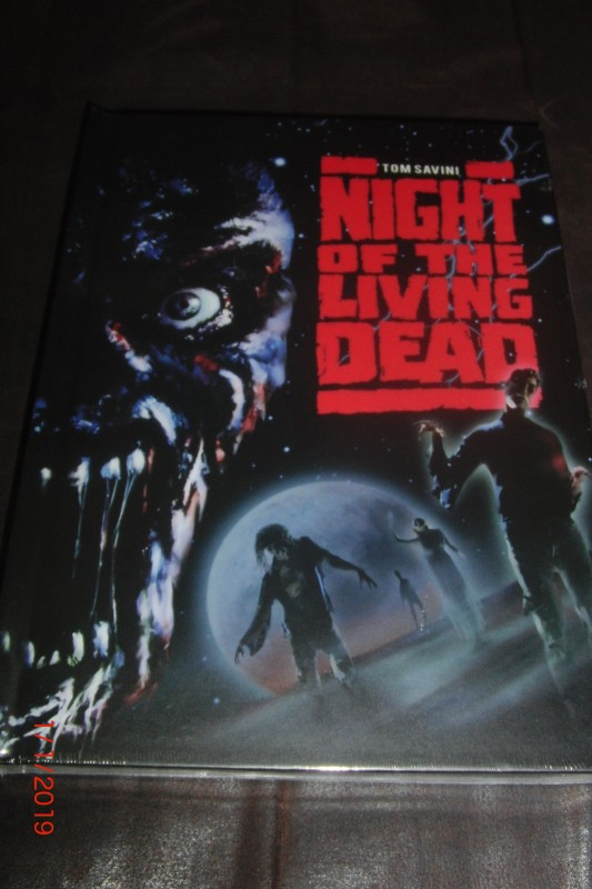 NIGHT OF THE LIVING DEAD - MEDIABOOK - LIMITED 500/ 395 -OVP