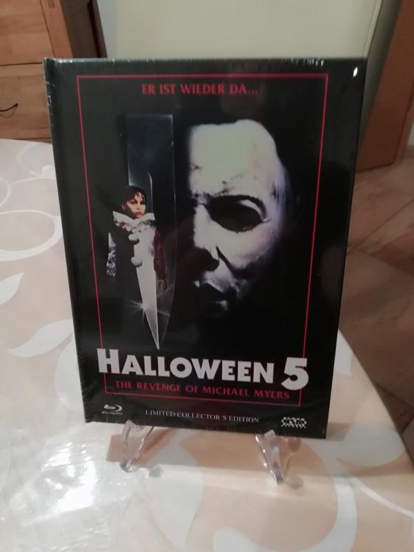 Halloween 5 Mediabook Ovp.