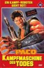Paco Kampfmaschine des Todes dt. DVD Gr. HB LE 161/222 OVP
