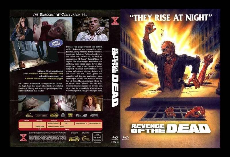 Revenge of the Dead aka Zeder; Mediabook D rar
