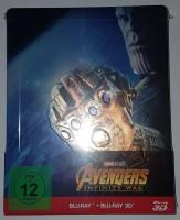Avengers - Infinty War 3D Steelbook geprägt NEU