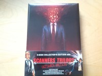 SCANNERS Trilogy 3 Disc Blu-Ray Mediabook NEU Cronenberg