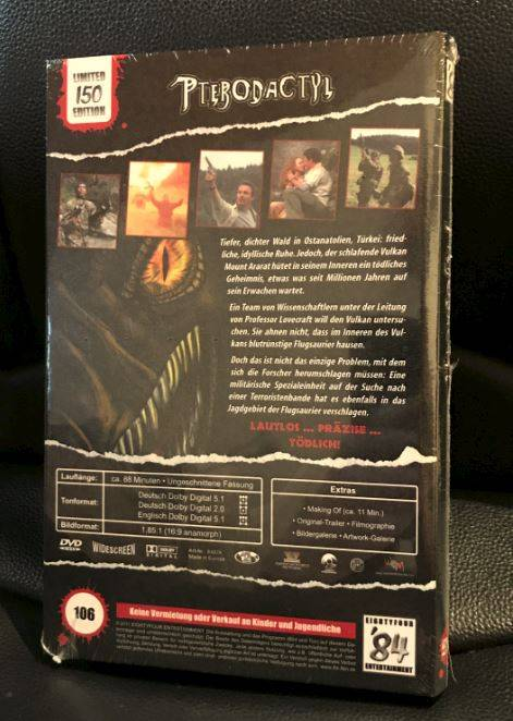 Pterodactyl - Dvd - Hartbox *Neu*