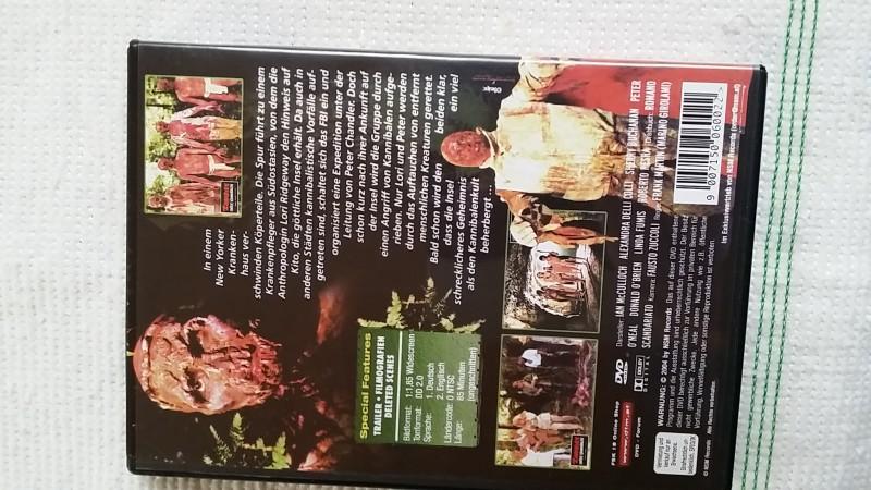 Zombies unter Kannibalen DVD Uncut NSM Kult Splatter Horror