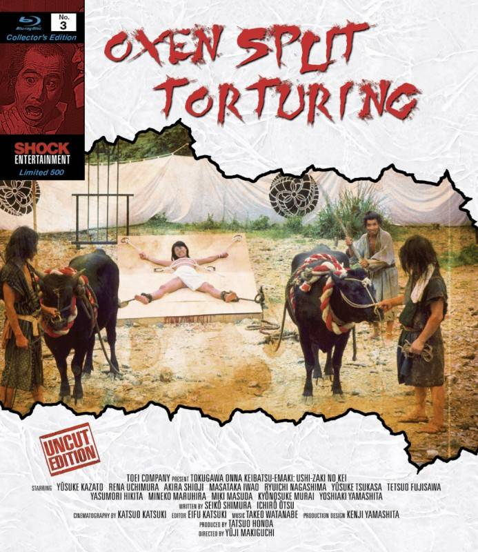 Oxen Split Torturing - uncut - lim. 500 (Blu Ray) NEU