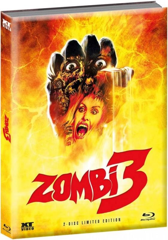 Zombie 3 - wattiertes Mediabook (Blu Ray+DVD) NEU/OVP