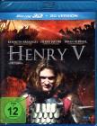 HENRY V Blu-ray 3D + 2D Kenneth Branagh Historien Epos