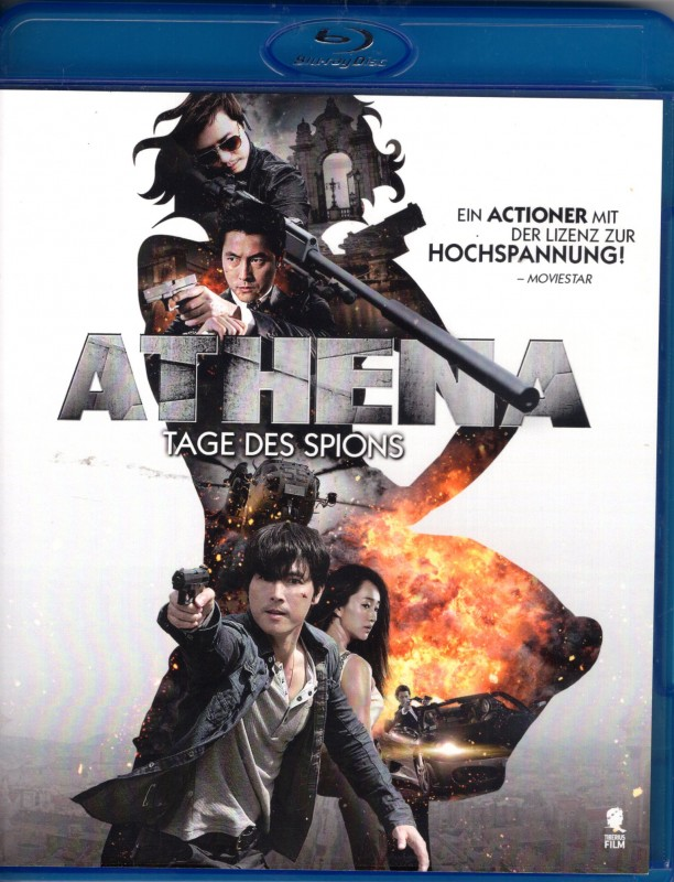 ATHENA Tage des Spions BLU-RAY Asia Action Thriller