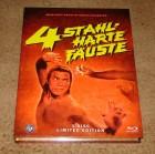 Blu-ray * 4 STAHLHARTE FÄUSTE * Mediabook