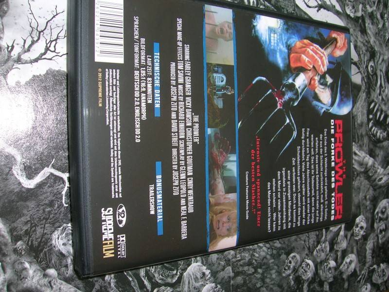 THE PROWLER DIE FORKE DES TODES DVD EDITION NEU OVP