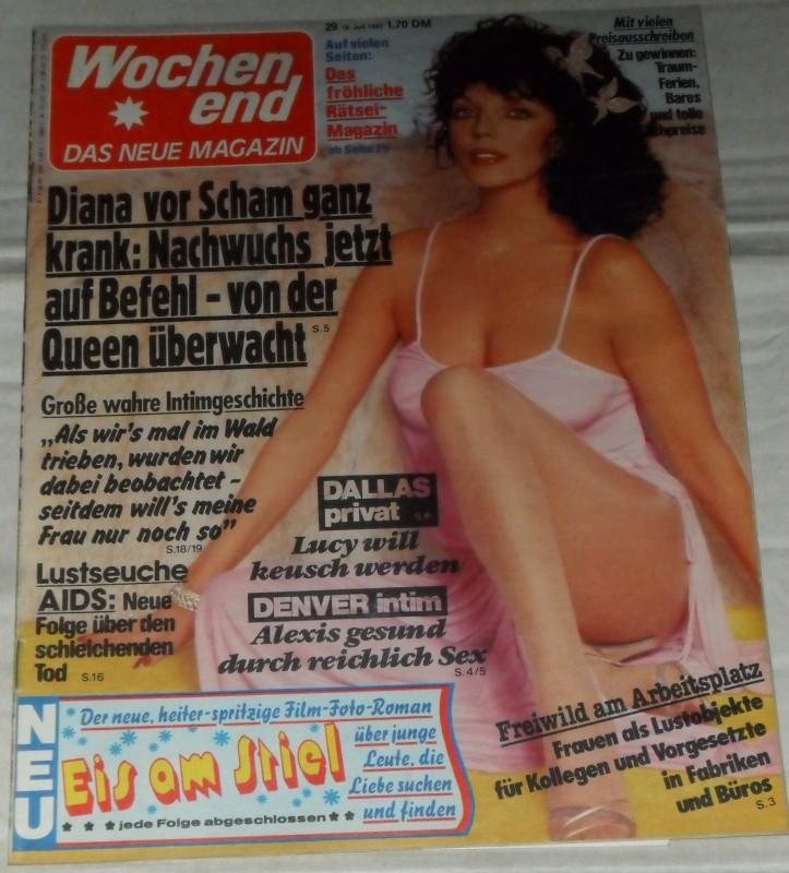 Wochenend - Heft 29 / 1983 *JOAN COLLINS* Rar