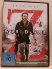 WORLD WAR Z Dvd Brad Pitt