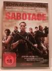 Sabotage Arnold Schwarzenegger DVD Uncut