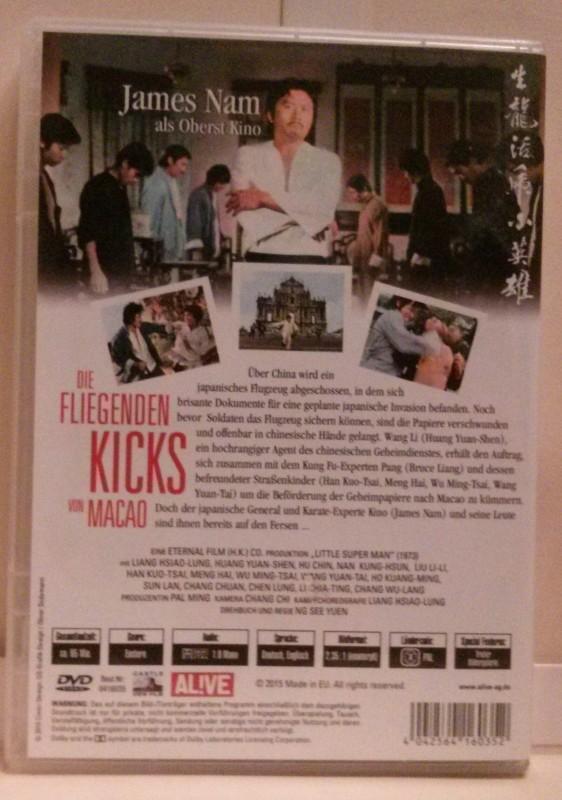 Die fliegenden Kicks von Macao aka Karate Superman DVD
