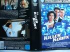 Der Killer Kodex ... Jamey Sheridan, Sela Ward  ... VHS