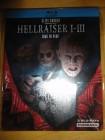 Hellraiser 1-3, Steelbook, uncut, deutsch, Blu-Ray
