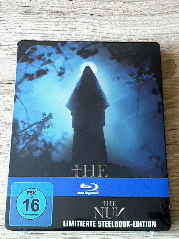 THE NUN(DAS GRUSELIGSTE CONJURING)LIM.BLURAY STEELB.UNCUT