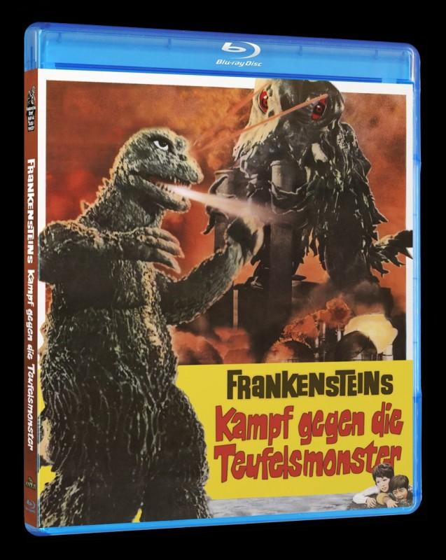 Frankensteins Kampf gegen die Teufelsmonster Blu-ray Amaray