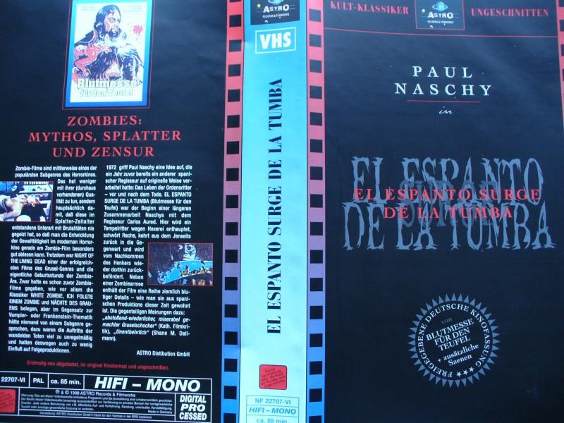 Blutmesse für den Teufel ... VHS ...  FSK 18