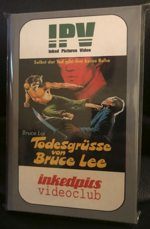 Todesgrüsse von Bruce Lee - Dvd - Hartbox *Wie neu*