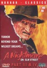 Nightmare on Elm Street 3 & 4 UNRATED DVD BOX DEUTSCH NEU