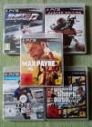 PS 3 Spiele-5 Stück/kleines Konvolut/Sammlung/PS 3 Games