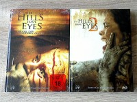 THE HILLS HAVE EYES 1+2(KLASSIKER)LIM.MEDIABOOK OVP UNCUT