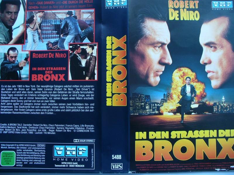 In den Strassen der Bronx ... Robert De Niro ... VHS