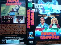 Triple Trouble ... Drew Barrymore, Ryan O´Neal  ...  VHS