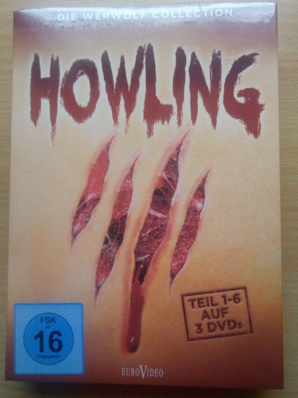 HOWLING DIE WERWOLF COLLECTION 1-6 AUF 3 DVDS   RARITÄT BOX
